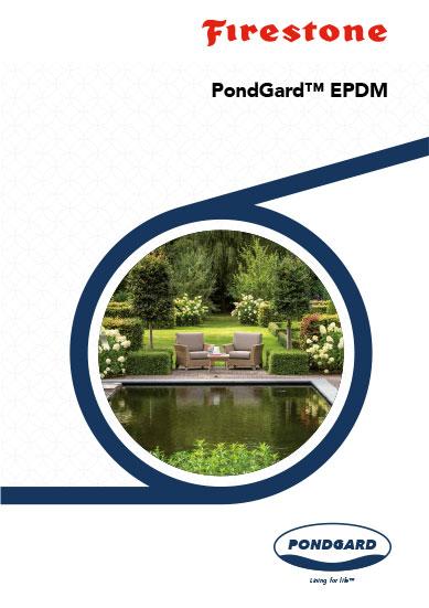 EPDM tófólia Firestone PondGard termékismertető