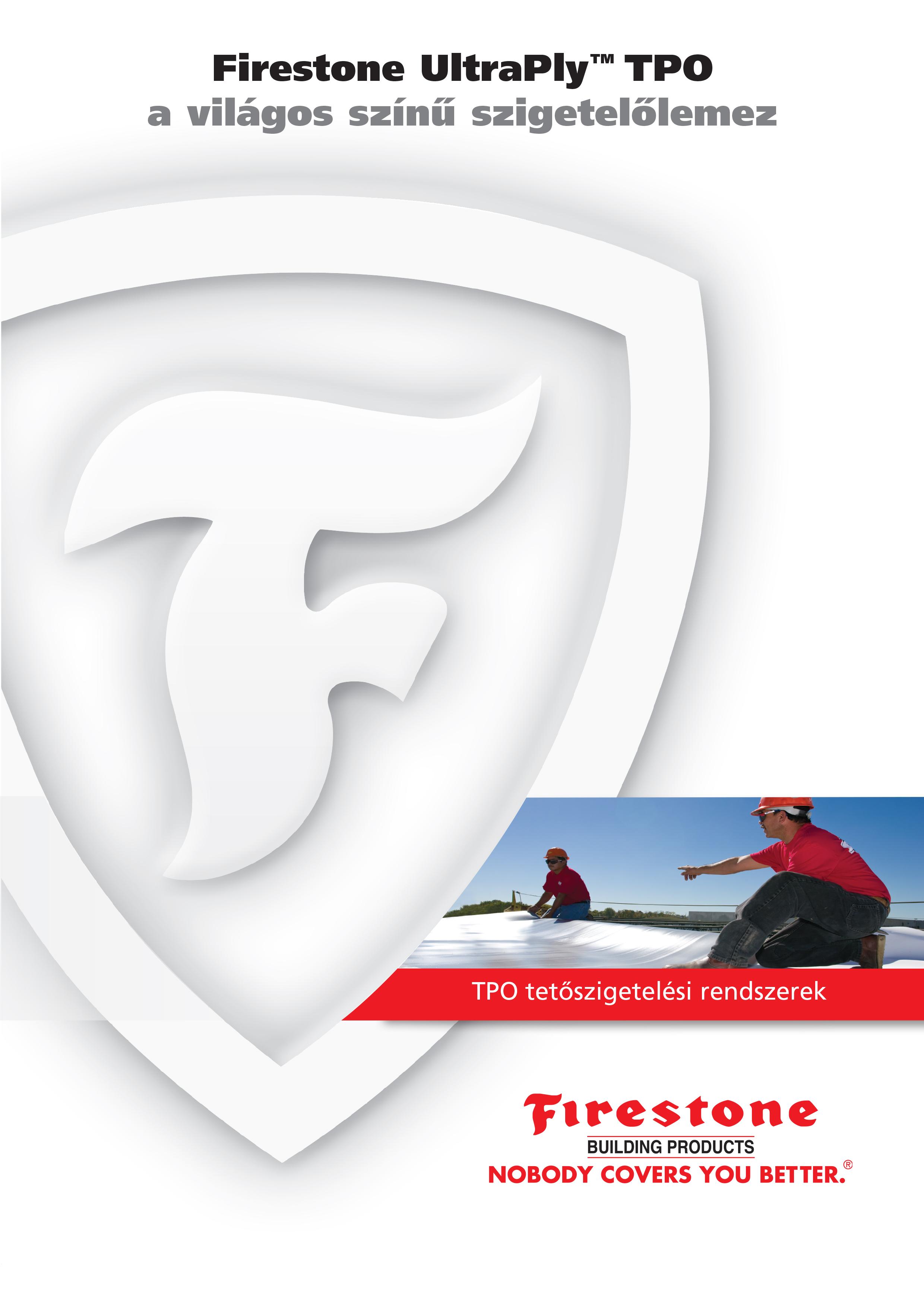 Laposteto szigeteles Firestone UltraPly TPO/FPO brossúra
