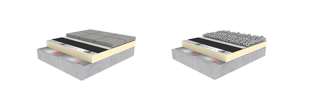 Leterhelt tető EPDM cspadékvíz-szigetelő lemez