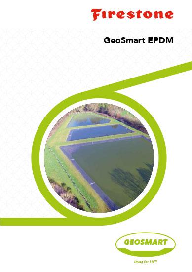Víztározó szigetelő gumifólia Firestone GeoSmart termékismertető